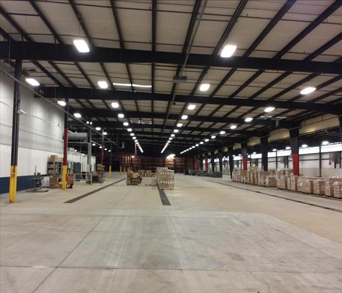 Cleaning a Large Industiral Facility in Dickson, TN After