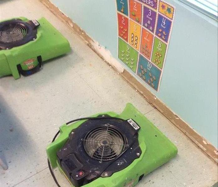 Water Damage at Dickson County Day Care