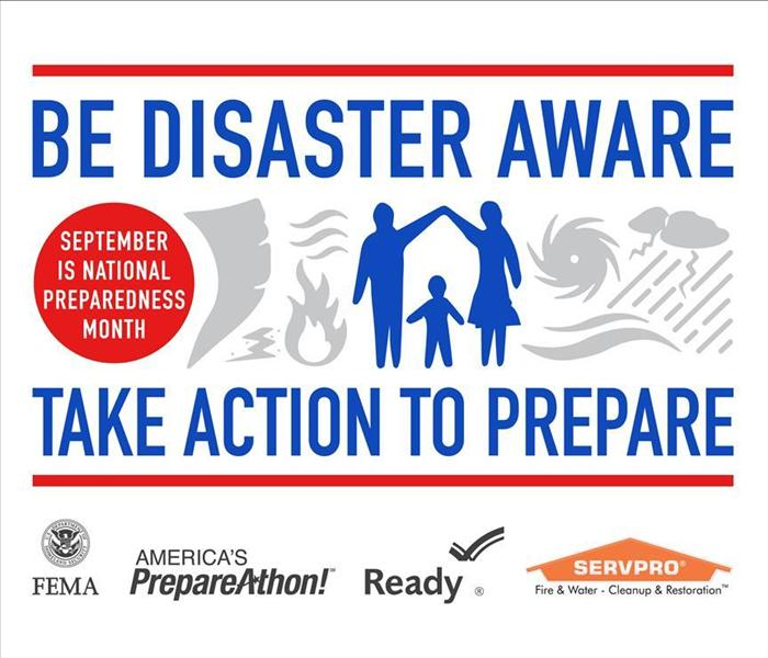 General SERVPRO Offers Free Disaster Prep Tips Following National Preparedness Month