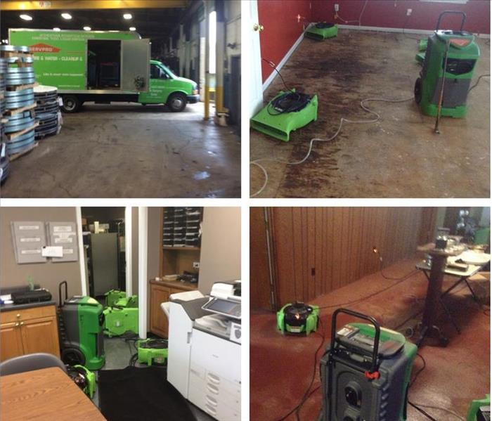 Water Damage Water Damage Inside Edition – SERVPRO® Equipment