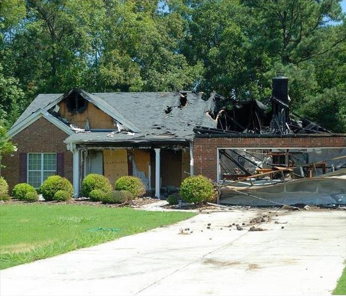 Fire Damage SERVPRO of Cheatham, Robertson and Dickson Counties - Fire Restoration Process Overview