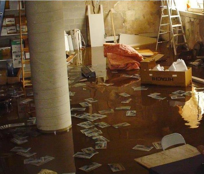 Water Damage Dickson Residents: We Specialize in Flooded Basement Cleanup and Restoration!