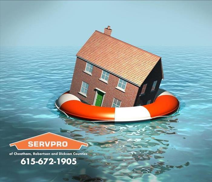 Water Damage SERVPRO® of Cheatham, Robertson and Dickson Counties 24-Hour Emergency Storm Damage Service