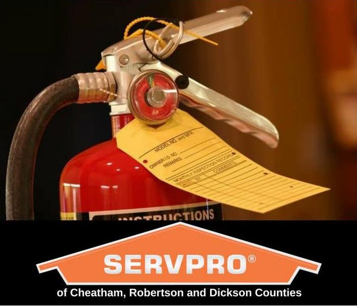 Fire Damage SERVPRO® of Cheatham, Robertson and Dickson Counties - Fire Extinguisher Tip